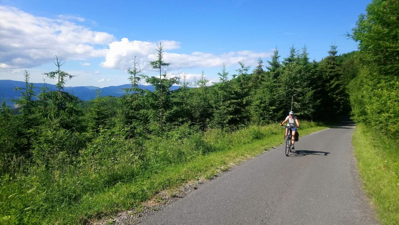 Crossing Low Tatra Mountains