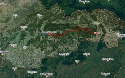 Bike Slovakia Mountain Route East