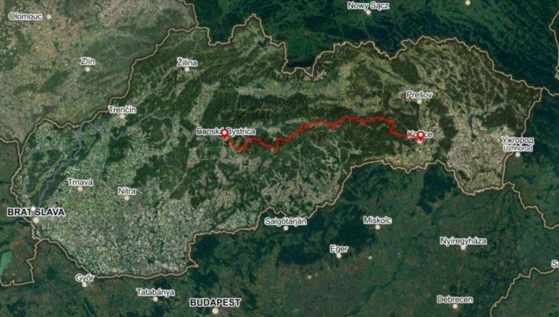 Horská trasa Východ, 6 dní