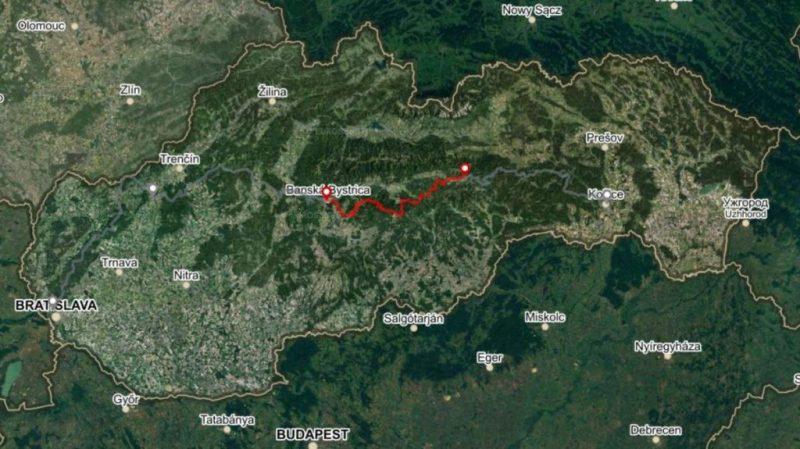 Horská trasa Úsek 3, 3 dní