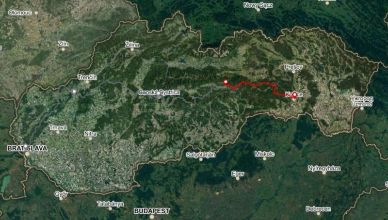 Horská trasa Úsek 4, 3 dni
