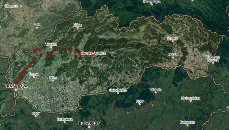 Horská trasa Západ, 7 dní