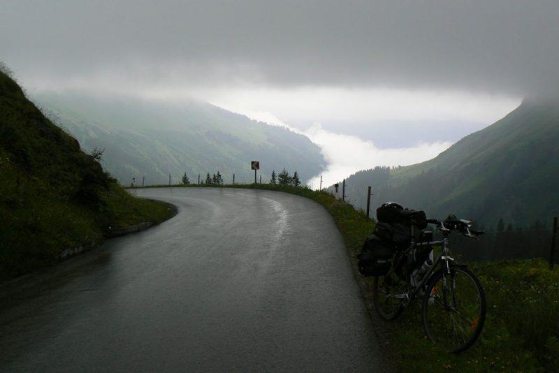 Austria Bike Rain