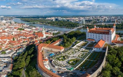 Cycling in Slovakia: Bratislava