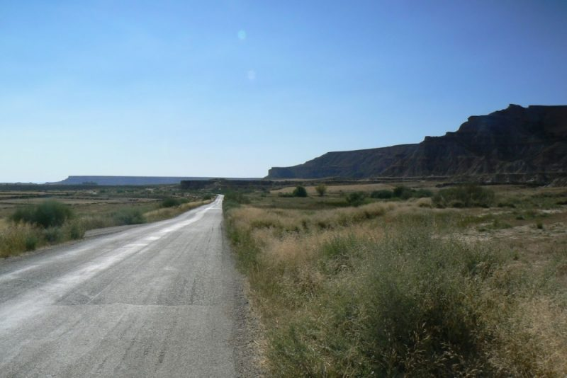 Cycling in Extremadura, Spain