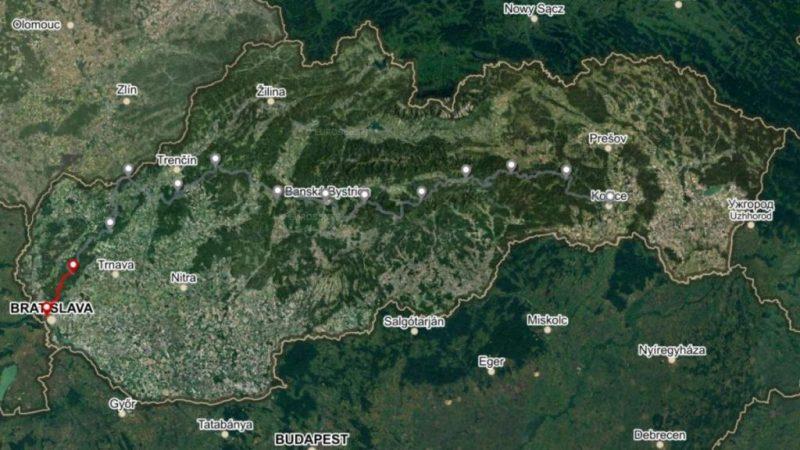 Horská trasa Úsek 1, 1. deň