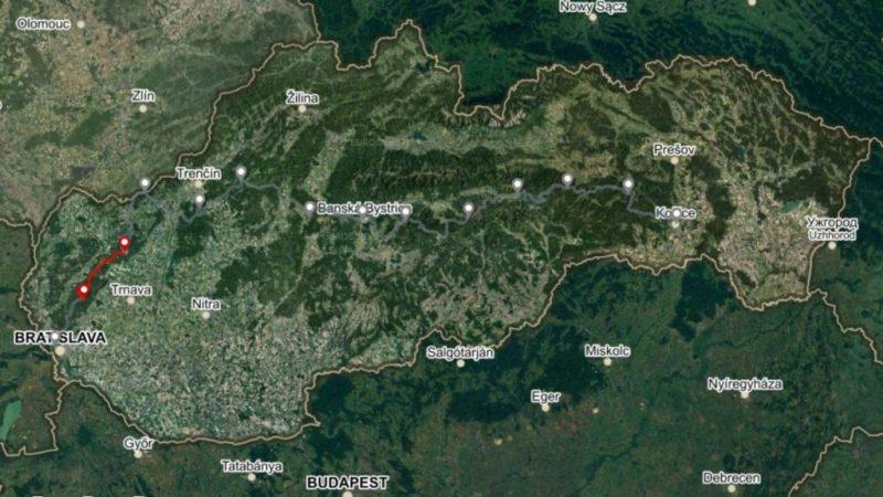 Horská trasa Úsek 1, 2. deň