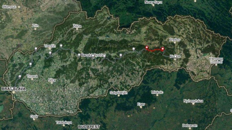 Horská trasa Úsek 4, 2. deň