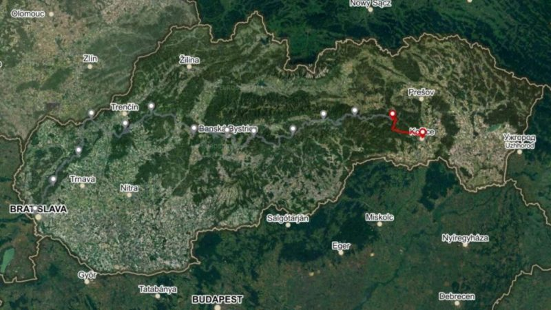 Horská trasa Úsek 4, 3. deň