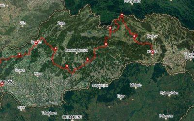 Bike Slovakia Road Route Map