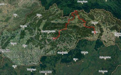 Bike Slovakia Road Route East
