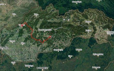 Bike Slovakia Road Route Part 02 Trencin Detva