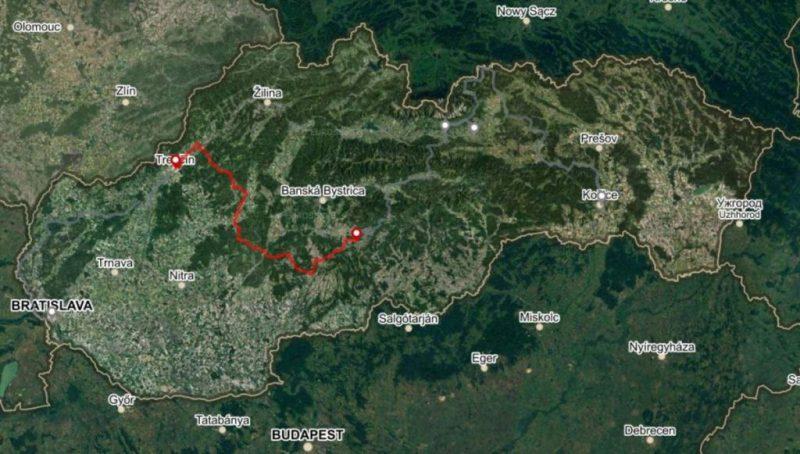 Cestná trasa Úsek 2, 3 dni