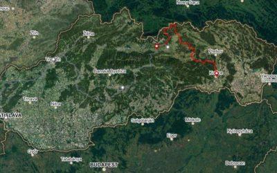 Bike Slovakia Road Route Part 04 Poprad Kosice