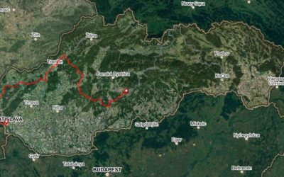 Bike Slovakia Road Route West