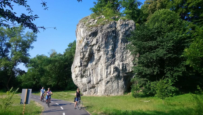 Bike Route Trencin Skalka Vah Cycle Trail