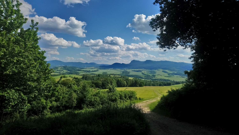 Mountains near Prievidza
