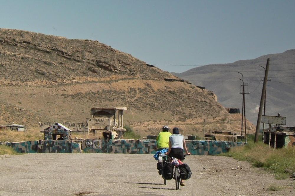 Cykloturistika v Arménsku, hranica s Nachičevanom