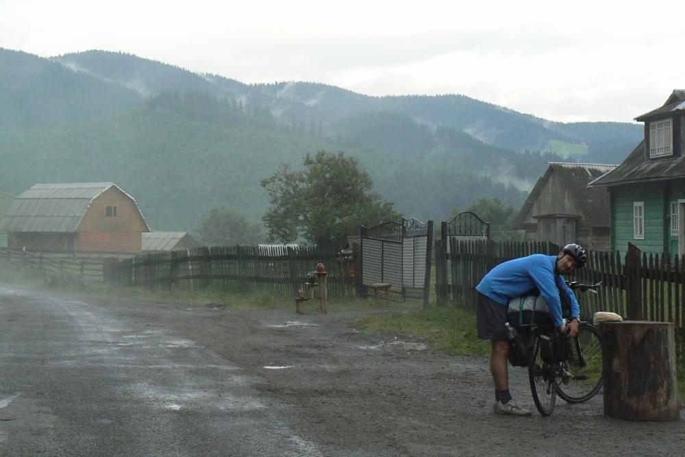 Cykloturistika na Ukrajine