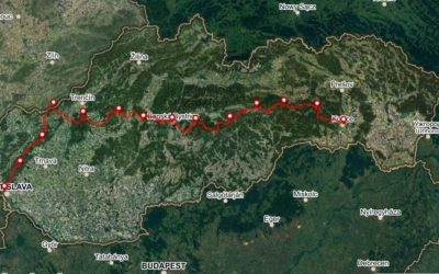 Bike Slovakia Mountain Route Map