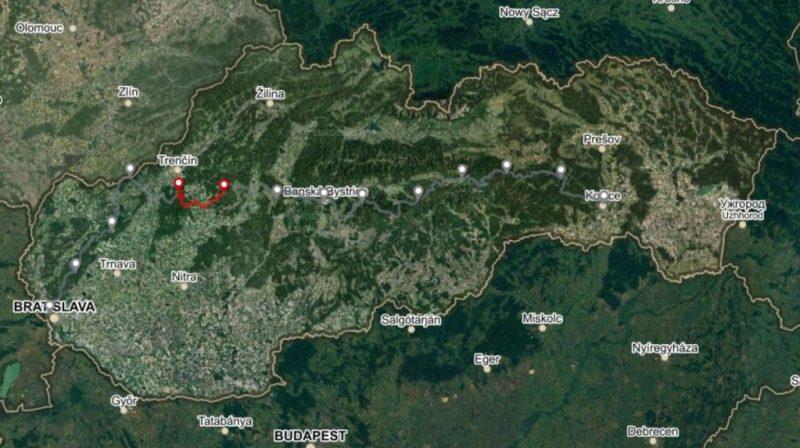 Horská trasa Úsek 2, 2. deň