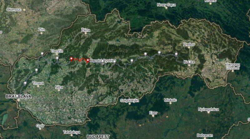 Horská trasa Úsek 2, 3. deň